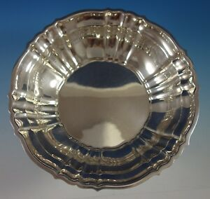"Chippendale by Gorham Sterling Silver Fruit Bowl #42667 9 1/2"" Diameter (#2735)"