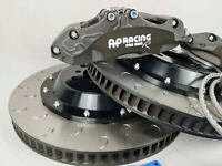 PAIR OF AP racing CALIPER CP9660 PRO 5000R RACE TRACK SPEC BLACK 6POTS