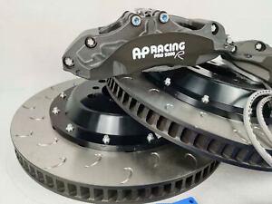 PAIR OF AP racing CALIPER CP9660 PRO 5000R RACE TRACK SPEC BLACK 6POTS