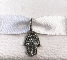 Pandora Symbol of Protection Hamsa Dangle Charm #791307CZ +Gift Packaging +Pouch