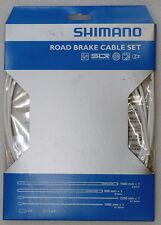 Shimano PTFE SIL-TEC Road Bike Brake Cable Housing Set White