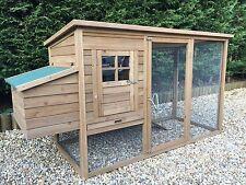 New Design Chicken Coop Poultry Rabbit Cat House & Run CC045 upto 4 hens
