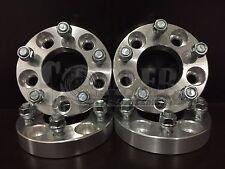 "Fit Chevy Camaro 4pcs 1.25"" 5 Bolt Lug Hub Wheel Adapters 5x4.75 Spacers 5x120.7"