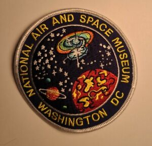 """NATIONAL AIR AND SPACE MUSEUM WASHINGTON DC 4"""" PATCH"""