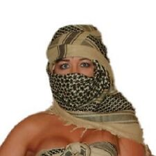 ARAFAT AFGHAN ARAB SCARF SHEMAGH KEFFIYE DESERT SAND
