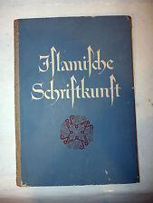 Saggio Arte Iscrizioni Islam - Kühnel: Islamische Schriftkunst, Berlino Lipsia