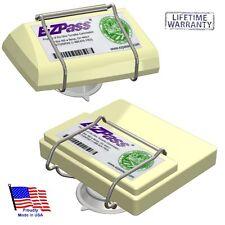 Toll Pass Holder for NEW & OLD EZPass/ IPass/IZoom/FasTrak/NC QuickPass/PalPass