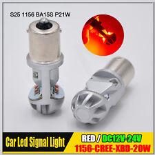 Canbus Red 1156 BA15S P21W CREE 20W LED Car Backup Brake Reverse Light Bulb Lamp