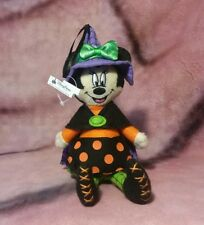 Disney Parks - Halloween Minnie Mouse as Witch - Holiday Plush Ornament