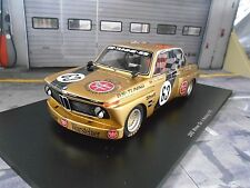 BMW 2002 Racing DRM étais une GS équipe #63 Obermoser Norisring 1975 Spark 1:18