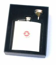 Army Lest we Forget 6oz Hip Flask Military FREE ENGRAVING Gift Boxed  BGK59