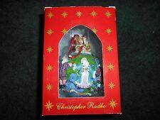 """Christopher Radko """"Santas Around The World.Nib"""