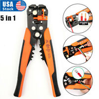 "Self-Adjusting Insulation Wire Stripper cutter crimper Terminal Tool Pliers 8"""