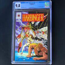 Harbinger #3 (Valiant 1992) 💥 CGC 9.8 WHITE Pages 💥 1st App Ax & Rexo! Comic