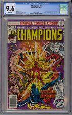 Champions #8 CGC 9.6 NM+ Wp Marvel Comics 1976 Ghost Rider Black Widow Hercules