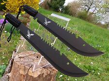 2 unidades Massive machete 49 cm huntingknife machette coltello Black cutit m003 ot