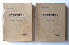 FRANZ SCHRADER : PYRÉNÉES, 1. COURSES ET ASCENSIONS & 2. SCIENCE ET ART / 1936