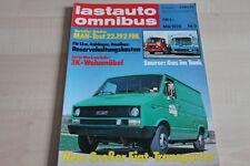 SV0289) MAN 22.192 FNL - VW LT Wohnmobile - Lastauto Omnibus 05/1978