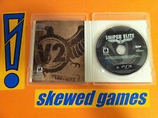 Sniper Elite V2 MINT - PS3 PlayStation 3 Sony COMPLETE