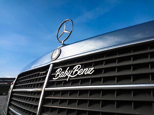 Baby Benz Mercedes Benz W201 emblem grill badge ornament