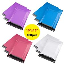 100 Poly Mailers 10x13 Shipping Envelopes Self Sealing Plastic Bags Waterproof