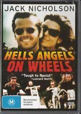 Hells Angels On Wheels - Region 2 Compatible DVD (UK seller!!!) Adam Roarke NEW