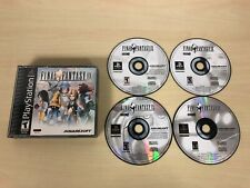 Final Fantasy IX 9 Playstation 1 PS1 Game Black Label FFIX FF9