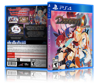 Disgaea 1 Complete - ReplacementPS4 Cover and Case. !! NO GAME!!