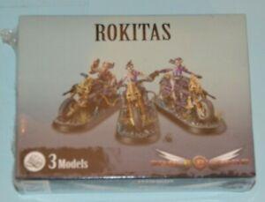 OOP Prodos Miniatures SPACE CRUSADE - ROKITAS - New in box and shrink wrap