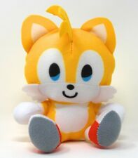 "NEW Sonic Big Head Plush (4 1/2"" Tails) Toy Factory, Sega NWT"
