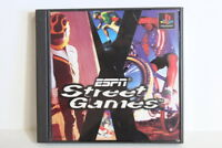 ESPN Street Games PS1 PS PlayStation 1 PSX One Japan Import US Seller