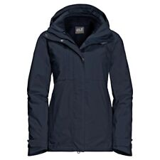 3in1 Jacke Jack Wolfskin Echo Pass Jacket Women midnight blue Gr. L