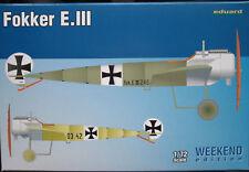 Eduard 1/72 EDK7444 Fokker E.III Eindecker Weekend Edition
