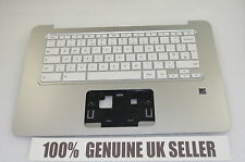 TESTED HP Chromebook 14-X050NA Laptop Palmrest Upper Cover Keyboard UK 787732-03
