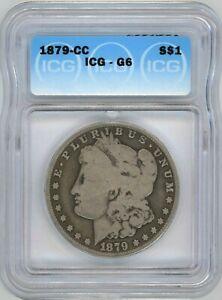 1879-CC ICG G-06 Morgan Silver DOLLAR ~ BETTER DATE ~ 1c START