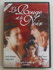 DVD LE ROUGE ET LE NOIR - Carole BOUQUET / Claude RICH / Judith GODRECHE