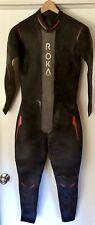 New listing Roka Maverick Elite Full Sleeve Triathlon Wetsuit Men X-LARGE Black