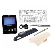 Gemlogis MANTIS Multi Tester & BLEU Referential Meter Loupe Gauge Tweezer Kit