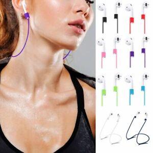 Für Apple Airpods Strap Kopfhörerband Halterung Halteband Silikon Ohrbügel Haken