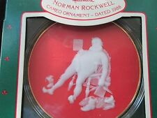 """1988 Norman Rockwell Christmas Keepsake,9th in series,""""And to All a Good Night""""!"""