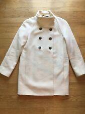 J Crew Cream Jacket Coat Size 8