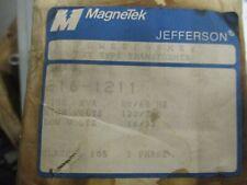 Jefferson 216-1211 .150 Kva 120/240 X 16/32 Volt Nema 3R Transformer -New- T420