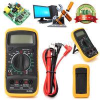 Digital Voltmeter Ammeter Ohmmeter Multimeter Volt AC DC Tester Current Meter
