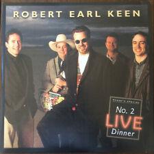 NEW Robert Earl Keen - No. 2 Live Dinner (Double Colored 180g Vinyl LP, 2017)