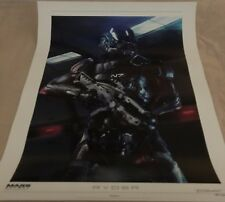 Mass Effect: Andromeda Scott Ryder Lithograph # 183 - Signed by Brian Sum -NEW!-