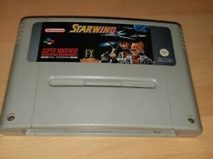 Starwing Super Nintendo SNES Cartridge PAL *WORKING* In Good Condition