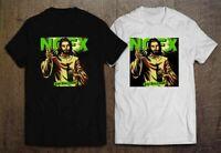 NOFX Never Trust A Hippy Hardcore Punk Rock Black and White T Shirt Size S- 2XL