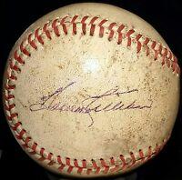 1960s HARMON KILLEBREW Single Signed Baseball vtg Minnesota Twins Team HOF