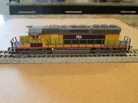 Custom Painted & Detailed Kato EMD SD-40-2, DCC, N Scale Diesel Engine LTEX#3757