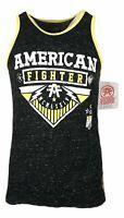 AMERICAN FIGHTER Mens OHIO SLUB TANK Athletic Biker MMA Gym $50
